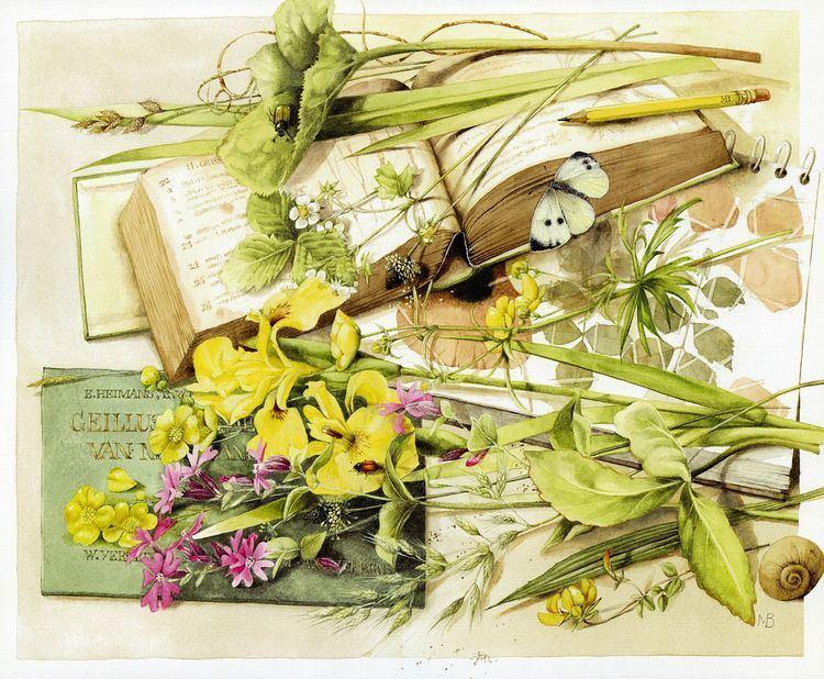 Marjolein Bastin Marjolein Bastin Artist Marjolein Bastin Joyful Fleurs