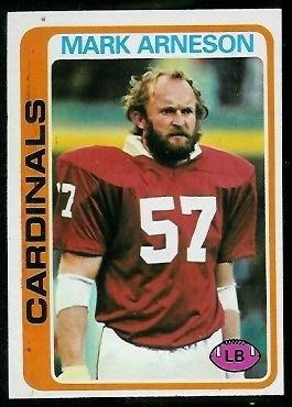Mark Arneson wwwfootballcardgallerycom1978Topps27MarkArn