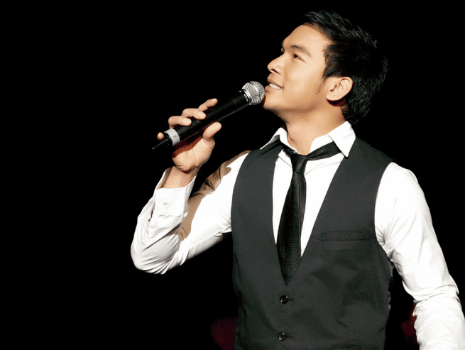 Mark Bautista Mark Bautista emboldens career image as he still sings on a high