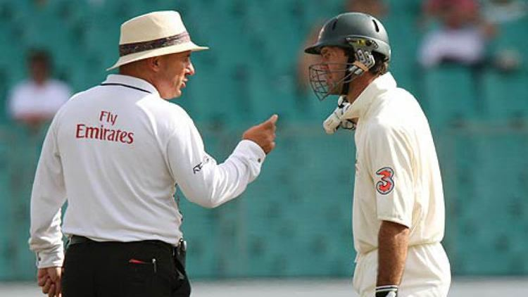 Mark Benson the umpire who made history calls time on career