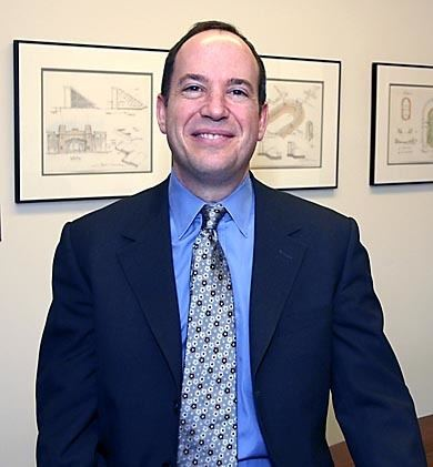 Mark Burstein Princeton Weekly Bulletin 020705 Experience gives Burstein a