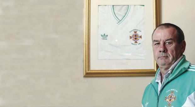 Mark Caughey Mark Caughey World Cup I wish Id stayed a cop BelfastTelegraph