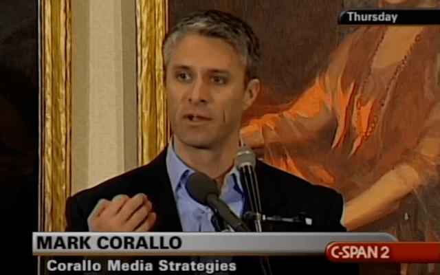 Mark Corallo Mark Corallo Trump spokesman and Trump critic
