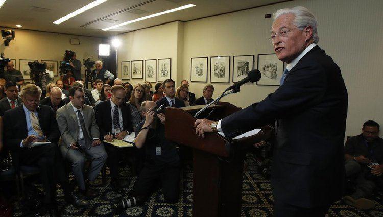 Mark Corallo Marc Kasowitz spokesman Mark Corallo resigns