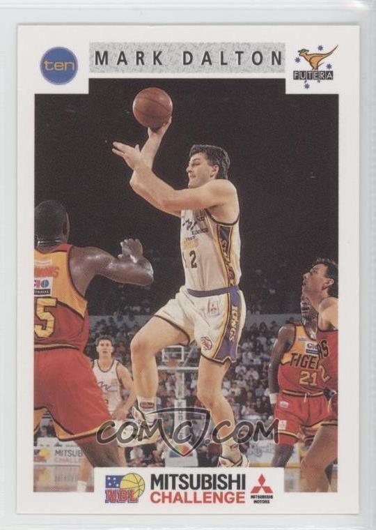 Mark Dalton (basketball) 1993 Futera NBL Base 110 Mark Dalton COMC Card Marketplace