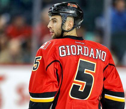 Mark Giordano Calgary Flames look to Mark Giordano to set the way NHL