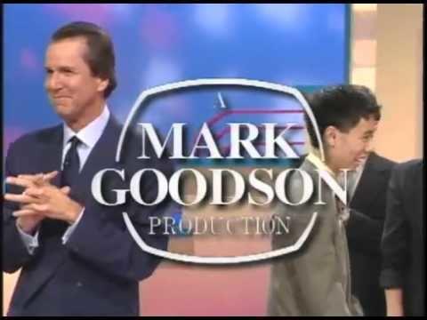 Mark Goodson Mark Goodson Productions Pearson Television 1998 YouTube