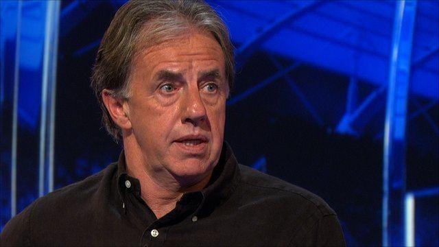 Mark Lawrenson BBC Sport John Terry was outstanding for England Mark