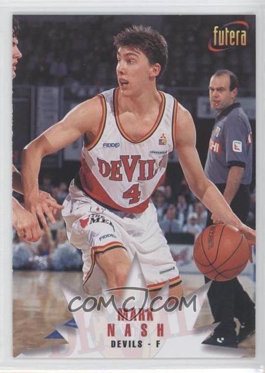 Mark Nash (basketball) 1996 Futera NBL Base 32 Mark Nash COMC Card Marketplace