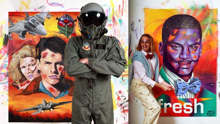 Mark Paul Deren Inside the mind and murals of artist MadSteez