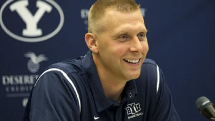 Mark Pope New UVU head basketball coach Mark Pope plans to use BYU