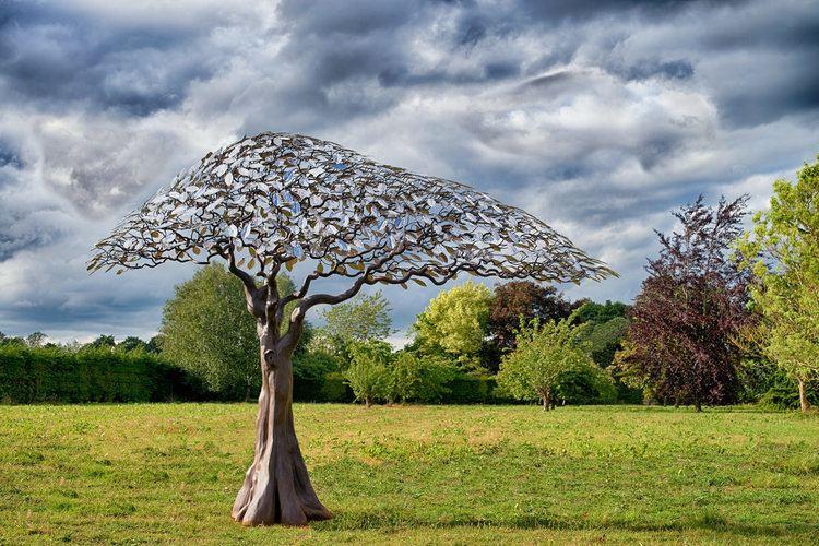 Mark Reed (sculptor) Arbour Metallum Tree Sculpture Mark Reed Sculpture