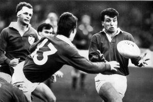 Mark Ring Six Nations 2015 Former flyhalf maverick Mark Ring on Wales v
