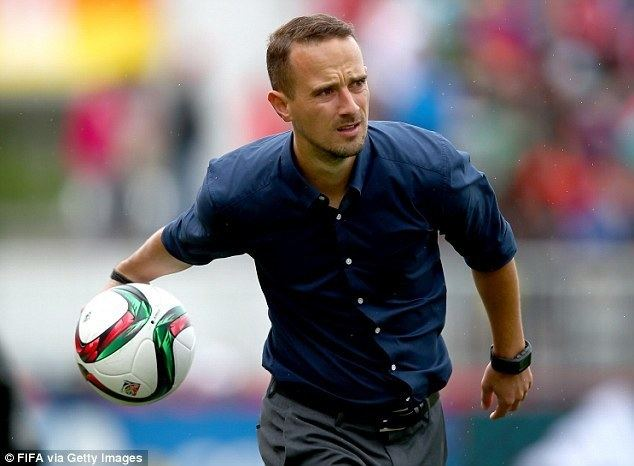Mark Sampson Mark Sampson determined to harness his experience as