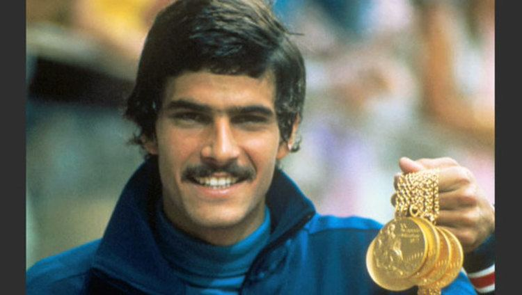Mark Spitz Mark Spitz at 1972 Munich Olympics Video The Olympic