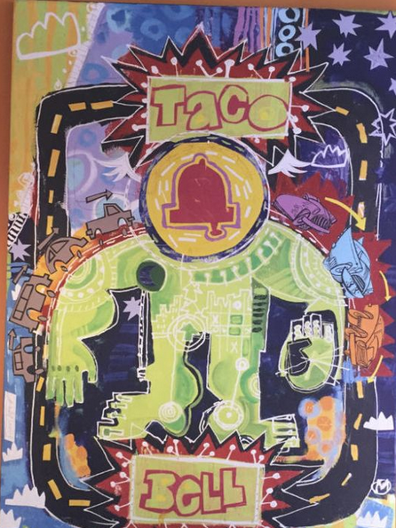 Mark T. Smith Artnet News reblog Stolen Taco Bell commission Sarah Cascone