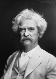 Mark Twain Mark Twain Author of The Adventures of Huckleberry Finn