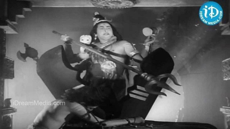 Markandeya (1935 film) movie scenes R Nagendra Rao Kantha Rao Master Anand Bhakta Markandeya Movie Climax Scene