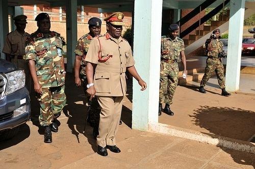 Marko Chiziko Malawi Defence Force Commander Gen Marko Chiziko photo page