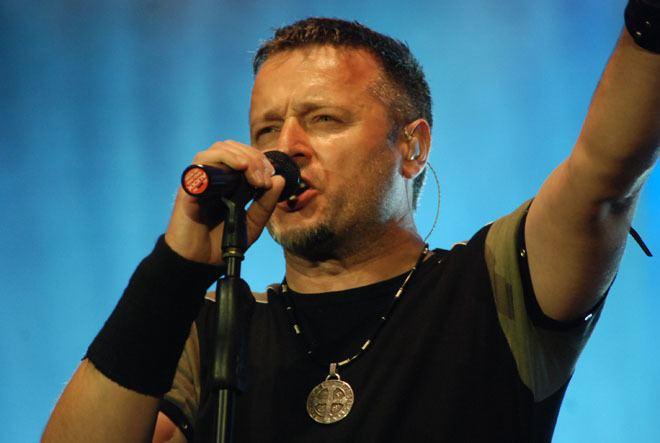 Marko Perkovic Marko Perkovic Thompsons concert in Zagrebs main square
