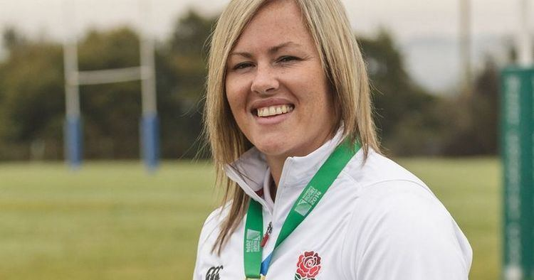 Marlie Packer Womens Rugby World Cup Yeovil rugby star Marlie Packer gearing up