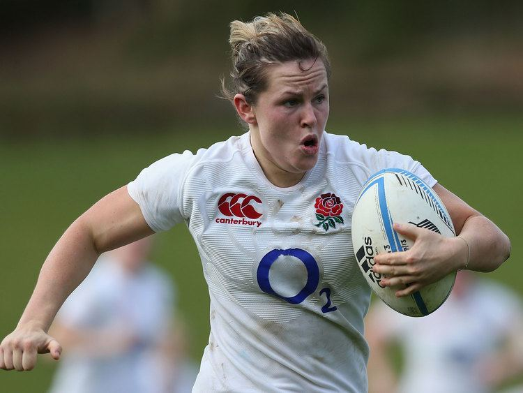 Marlie Packer Plumber Marlie Packer happy to forget day job as England eyeup