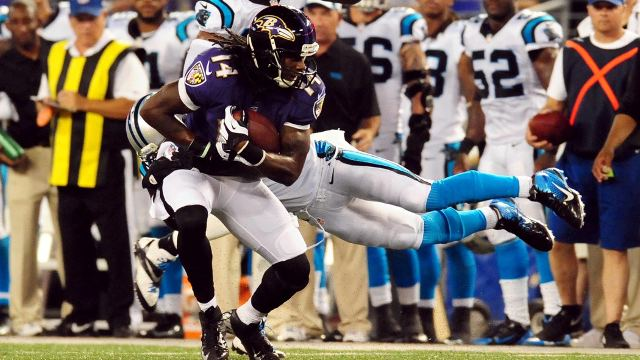 Marlon Brown Baltimore Ravens39 Marlon Brown Answers Receiver Question