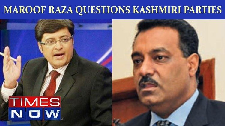Maroof Raza Pakistan Terror Attacks Maroof Raza questions Kashmiri parties