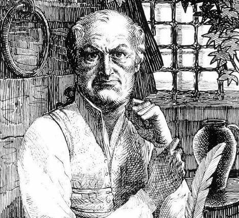 Portrait of Donatien Alphonse François de Sade