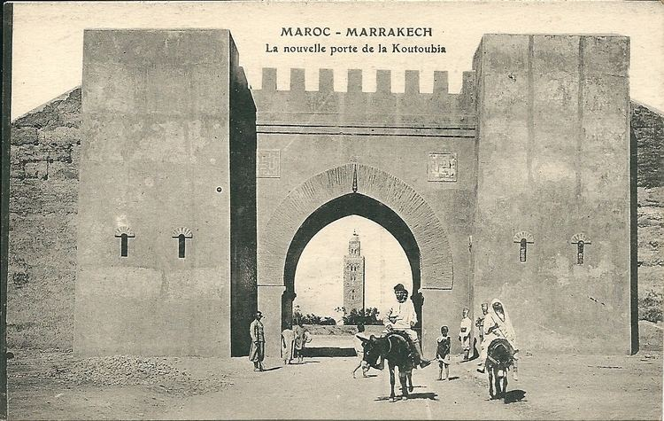 Marrakesh in the past, History of Marrakesh