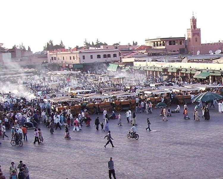 Marrakesh Tensift El Haouz in the past, History of Marrakesh Tensift El Haouz