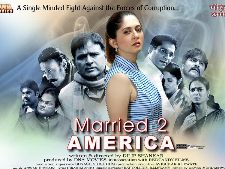 Married 2 America Hindi Bollywood film review Johnson Thomas