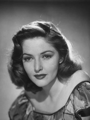 Martha Vickers Actress Martha Vickers Posing for a Picture Premium