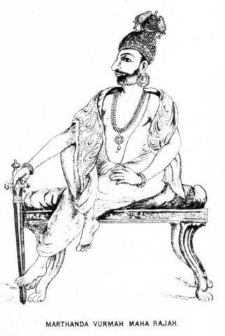Marthanda Varma HH Maharaja Anizham Thirunal Marthanda Varma 1729 1758