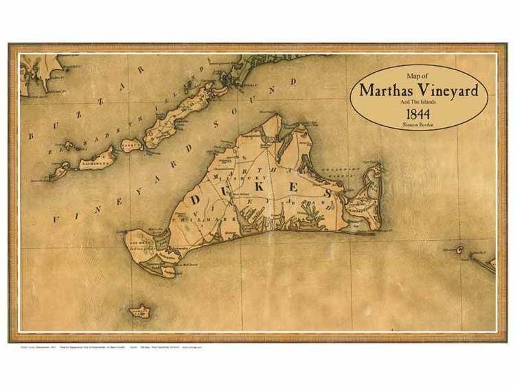 Marthas Vineyard in the past, History of Marthas Vineyard