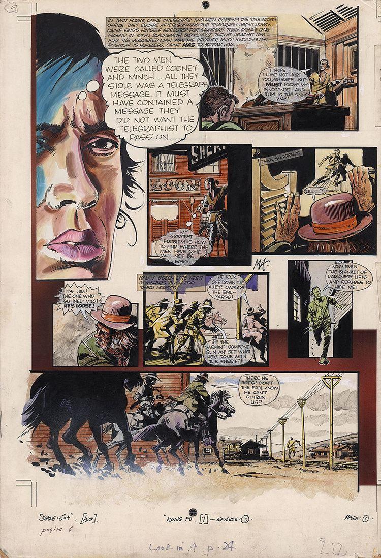 Martin Asbury Martin Asbury Comic Art Gallery