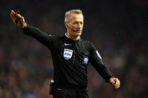 Martin Atkinson Referee Martin Atkinson not selected for game next weekend after