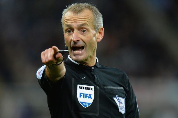Martin Atkinson TyneWear derby Martin Atkinson to take charge of this weekends