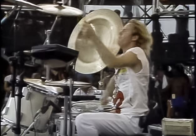 Martin Chambers Pretenders drummer Martin Chambers on Chrissie Hynde Live Aid and