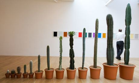 Martin Creed Prickly customers Martin Creed and Richard Wright in