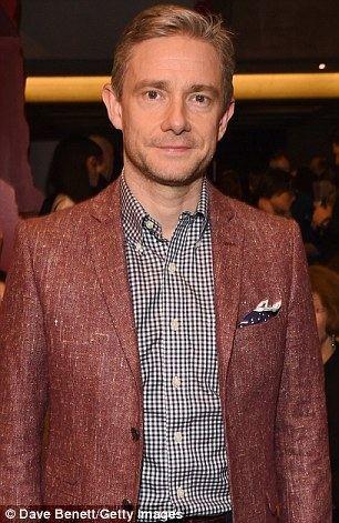 Martin Freeman Martin Freeman discusses Benedict Cumberbatchs theatre rants