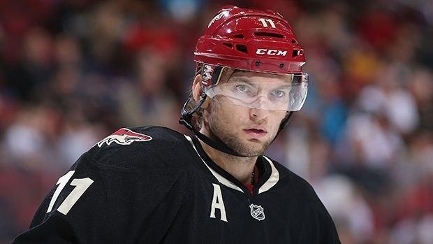 Martin Hanzal Coyotes forward Martin Hanzal suspended 2 games NHL on