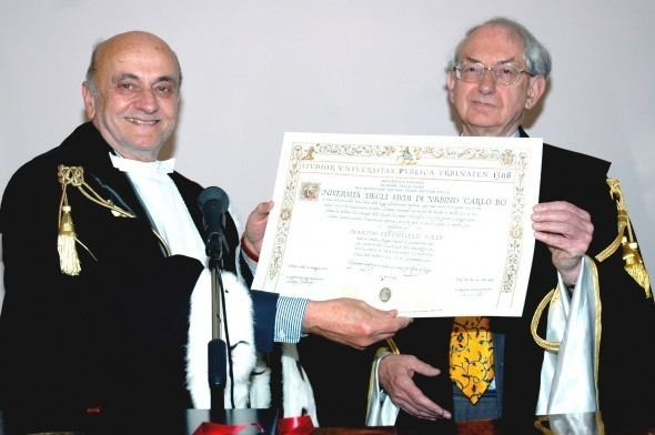 Martin Litchfield West Laurea ad honorem a Martin Litchfield West UniurbPost