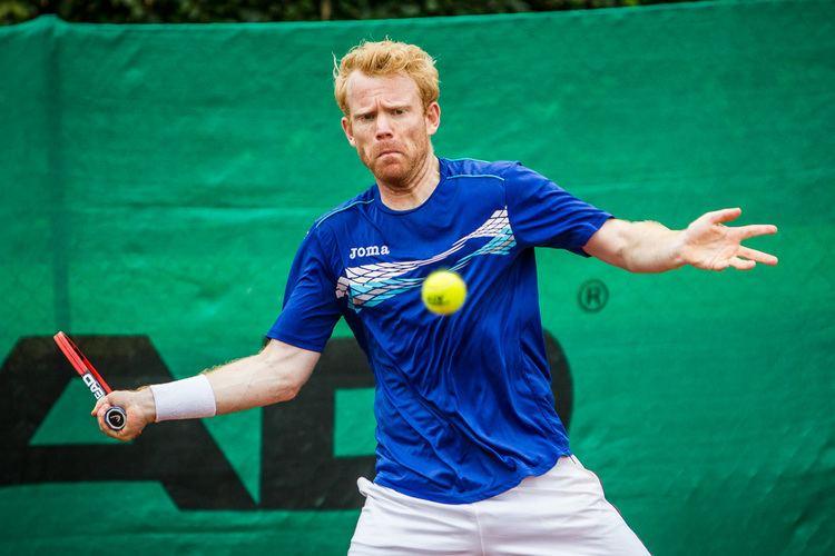Martin Pedersen (tennis) Davis Cup Martin Pedersen stopper p landsholdet