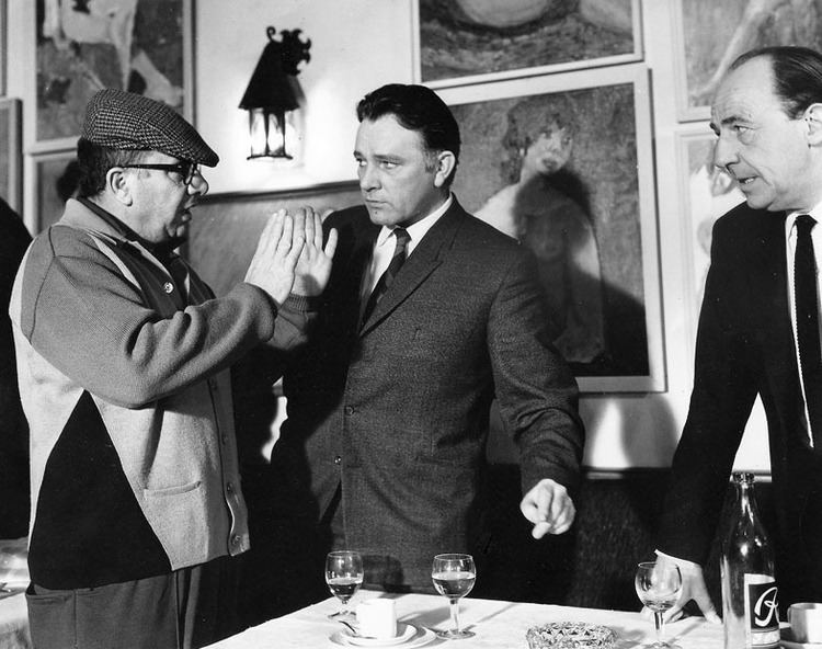 Martin Ritt The Auteur39s Tea Room Martin Ritt directs Richard Burton