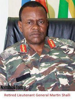 Martin Shalli SWAPO Lieutenant General Martin Shalli must Head AU Emergency