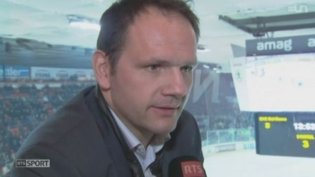 Martin Steinegger Hockey LNA Bienne revit grce Martin Steinegger