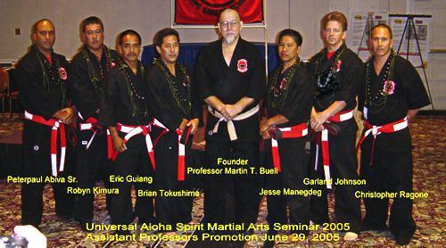 Martin T. Buell Universal Kempo Karate Schools Association UKKSA