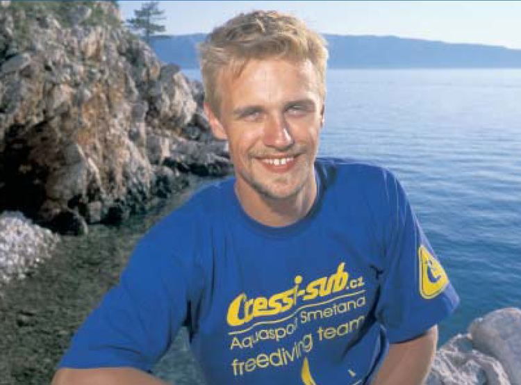 Martin Štěpánek (free-diver) Martin tpnek pokoil dal svtov rekord lnky Freediving