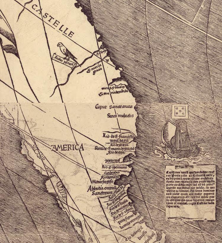 Martin Waldseemüller Martin Waldseemller Creates the First Map to Name America A Wall